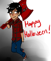 Happy Halloween! by AskBurma