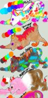 Cat/lion cub adopts *OPEN* by Flare-goes-OM-adopts