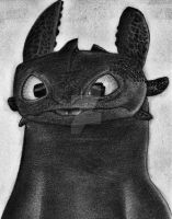 Just...Toothless by AnakinJones