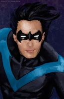 Nightwing by shaunamobley