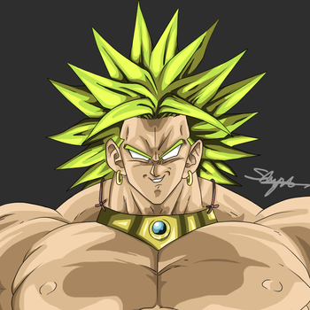 Remake of Broly by ShynTheTruth