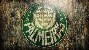 Palmeiras Wood Wallpaper by Panico747