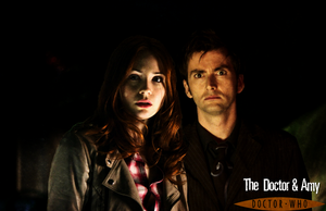 Amy Pond and the 10th Doctor by feel-inspired