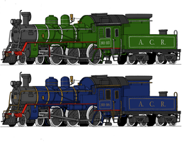 Two more 4-6-0s to the ACR by Atticus-W