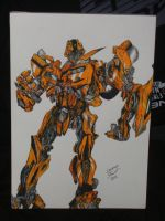 BUMBLEBEE TRANSFORMER SKETCH by cr3at1on