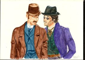 Holmes and Watson by vika8D