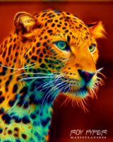 Young Leopard: Fractalius Re-Edit by nerdboy69