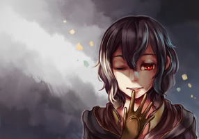 Daddy's little girl by AliceTheBRabbit