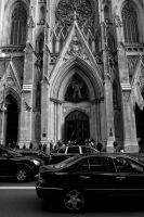 St Patrick's Cathedral, NYC by scarletarts