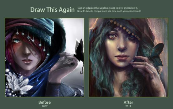 Draw this again: Enchanted by Nicola-Alexander