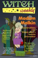 Madam Malkin - Witch Weekly by edgar1975