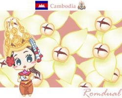Flower of Cambodia by refudger
