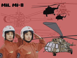 Mil MI-8 wallpaper 1152x864 by Pasteljam