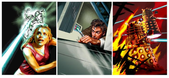Dr Who Original Sample Images by BrianAW