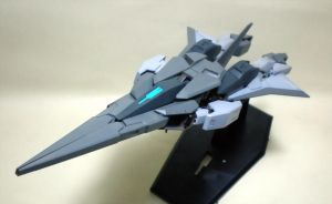 Gundam Arios Real Type MA mode by stormv