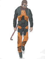 Gordon Freeman by tdal12