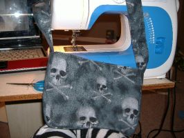 Skull Purse WiP? by Erzsabet