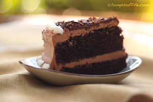 Ultimate Chocolate Cake by chompsoflife