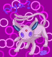 Espeon. by BoWhatElse