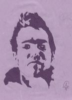 Pete Wentz paper cut out by sashabrambleshadow