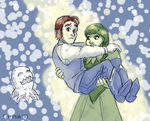 Save me from the snowball by ErinPtah