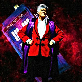 Third Doctor by LowBassGuy
