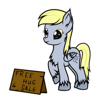 Derpy Hooves ~ Free Hug ^^ by Alexa0118