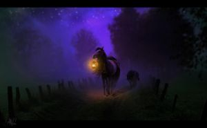 Dark Road by DarkHorses90