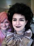 Neil Gaiman's Death and AT PB Cosplay by TheALMs
