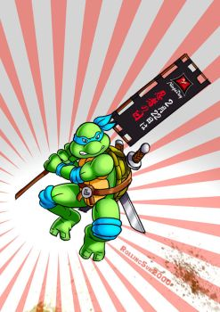 National Ninja Day... with turtles by RollingSun2000