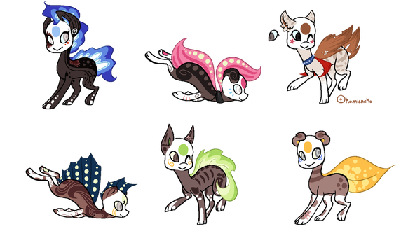 Finnedyr Adopts (23) -CLOSED- by HitMeWithBrokenLeave