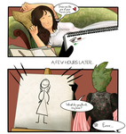 Vastra and Jenny: Painting lessons by ice-cream-skies