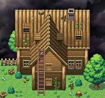 A Rpg Maker house... by ShidoLionheart