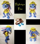 Fisherman Fizz plush by nfasel