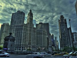 Chicago Skyline 13012998 by StockProject1