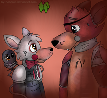 Under The Mistletoe by Boonnie