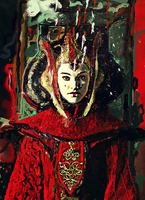 Queen Amidala by nicollearl
