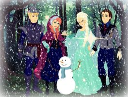 Frozen is Finally Here by dcfan0590