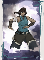 Older Korra by theroguesigil