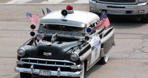 Vintage - Police Cruiser by AaronMk