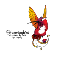 Purple Bibbed Phoenix by Alyssa-Rice
