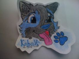 Kobalt Badge by Inky-Wolf-Tracks
