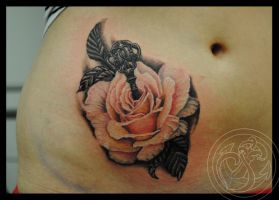 Rose Tattoo by RosaroterPanda