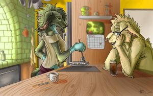 Breakfast For Two by Vyntresser