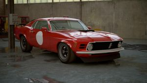 1970 Ford Mustang Boss 302 by melkorius