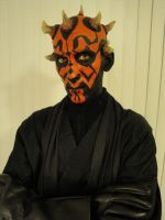 Darth Maul 2010 Halloween by KumaBearoso