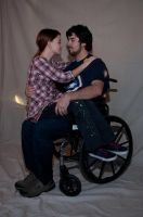 Wheelchair Couple Stock 11 by FairieGoodMother