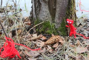 Unravel:  Yarny`s Low on Yarn... by depcow