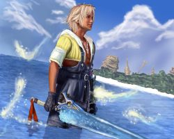 Tidus by Darthval