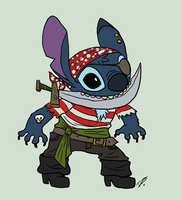 Argh meh Stitch by issabissabel